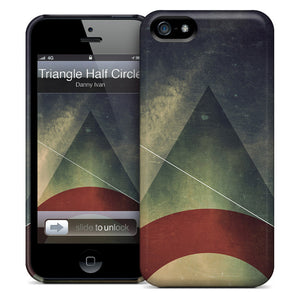 Triangle Half Circle iPhone Case