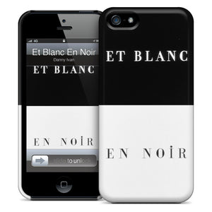 Et Blanc En Noir iPhone Case