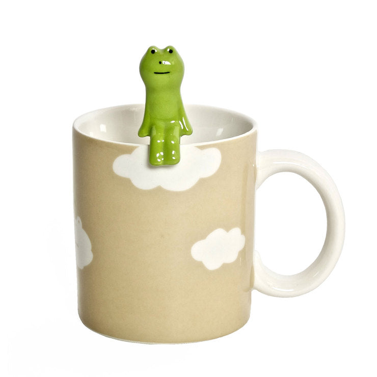 Frog Mug And Spoon Set