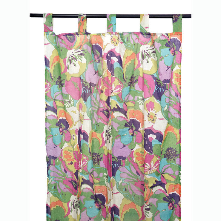Flower Garden Curtain Multi