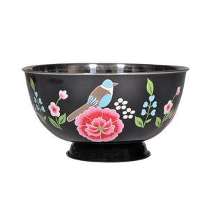Large Salad Bowl Black