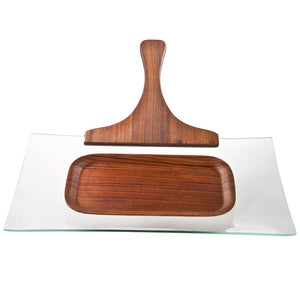 Canap̩ Serving Shovel With Tray