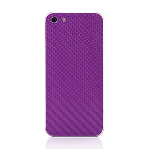 Carbon Fiber iPhone 5 Purple