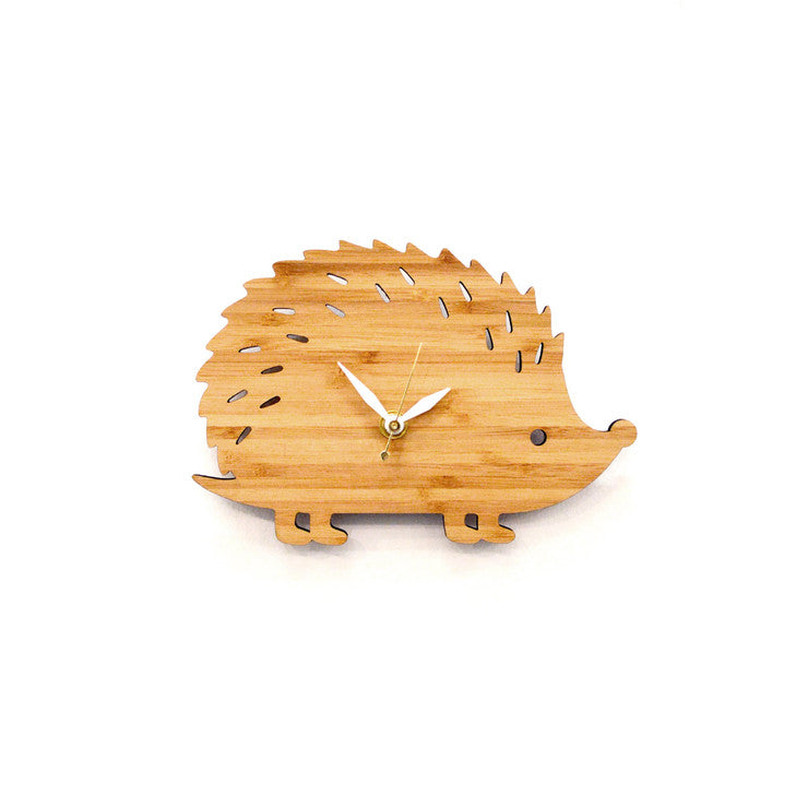 Hedgehog Clock Small