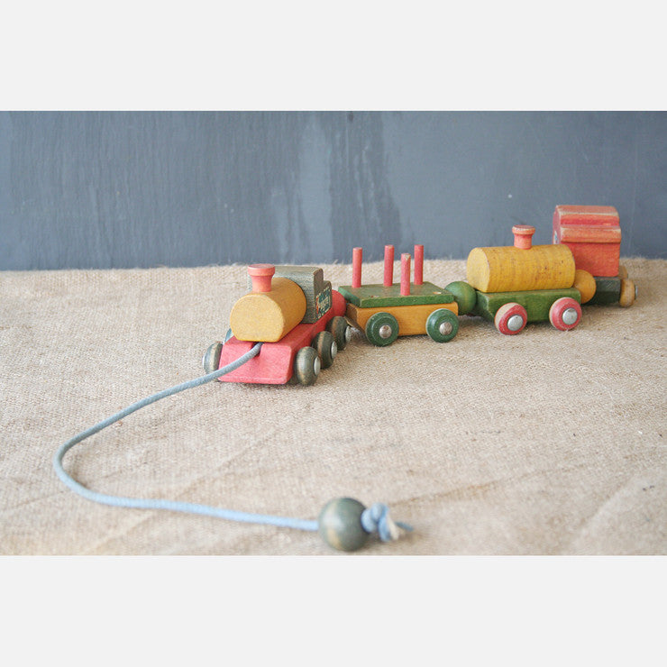 Wood Toy Train I