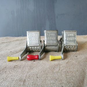 French Grater Set