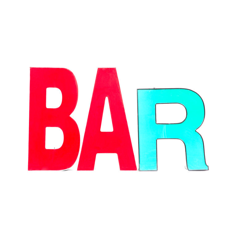 Channel Letters Bar