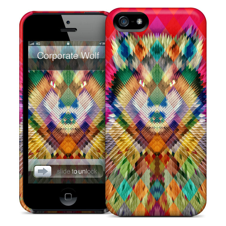 Corporate Wolf iPhone Case