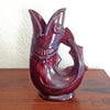 Shreve Crump Red Fish Vase