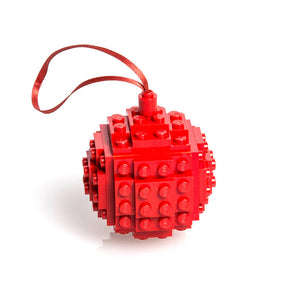 Bauble Made From LEGO® Red