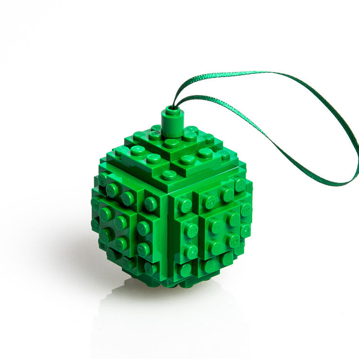 Bauble Made From LEGO® Green