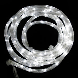 Plug-Free Rope Lights White 16'