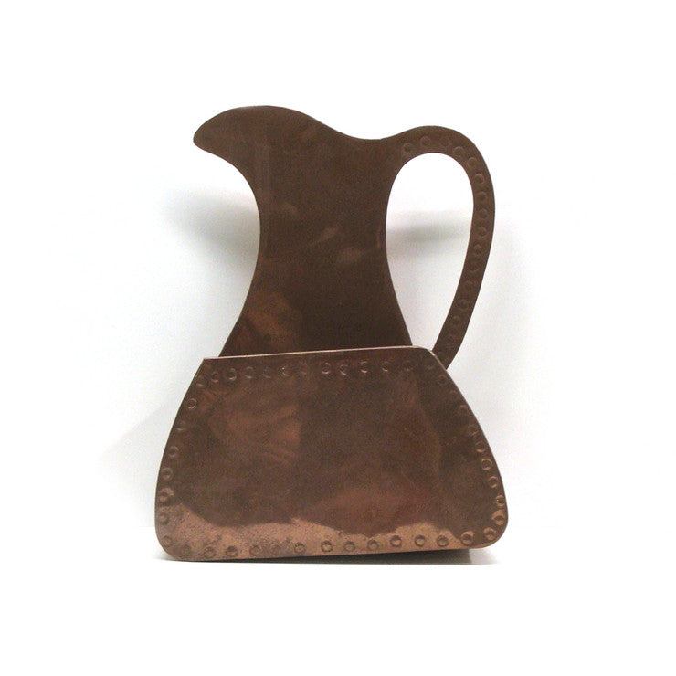 Copper Pitcher Wall Hanging