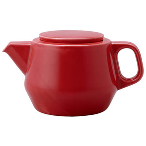 Couleur Tea Pot Red