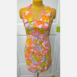 Full Apron Bright Flower