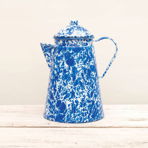 Coffee Pot Large Blue