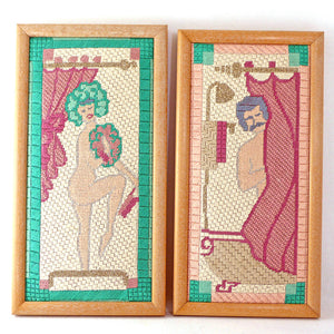Bathing Beauties Needlepoints