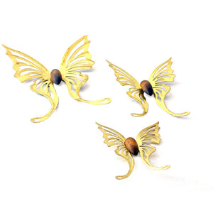 Butterfly Wall Hangings Set Of 3