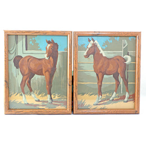 Horse Paint By Number Set