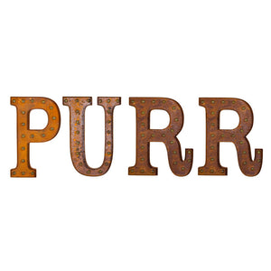 Marquee Light PURR Set Rust