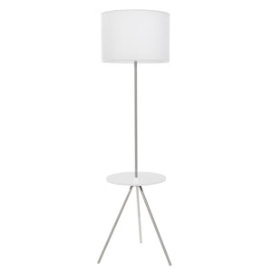 Fusion Table Lamp White