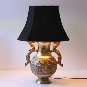 Brass Dragon Lamp