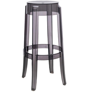 Charles Ghost Barstool Gry S/2