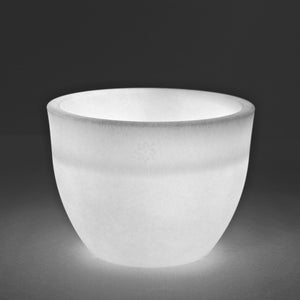 Glowing Flowerpot White S