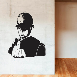 Banksy Police! Decal