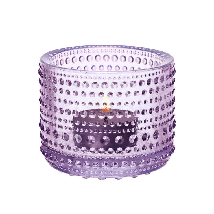 Kastehelmi Tealight Holder Lav