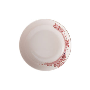 A Curious Toile Soup Bowl