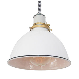 Columbus Lamp White