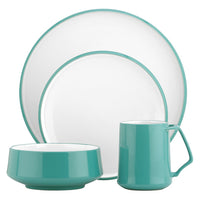 Kobenstyle 4 Piece Setting Teal