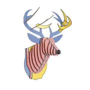 Bucky Jr Deer Trophy Pop Art