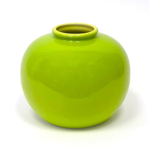 Jade Ring Vase Green