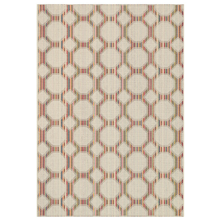 Carmen Round Indoor Outdoor Rug