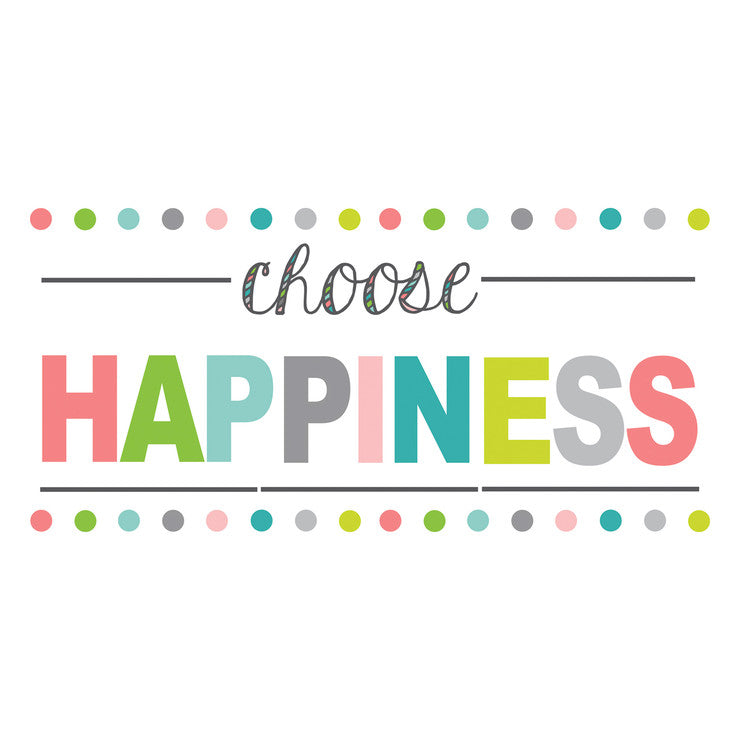 Choose Happiness Wall Quote