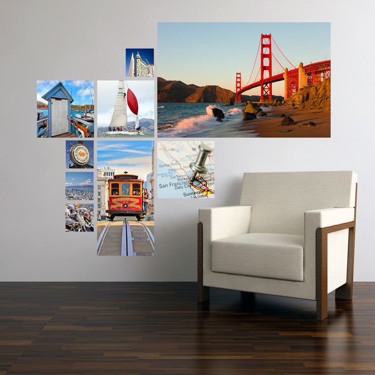 San Francisco Photo Collage – Fab