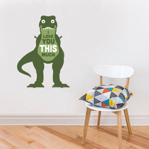 Amourosaurus Wall Decal S