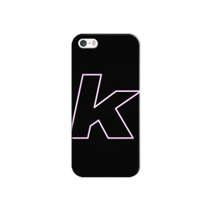 Neon K iPhone Case