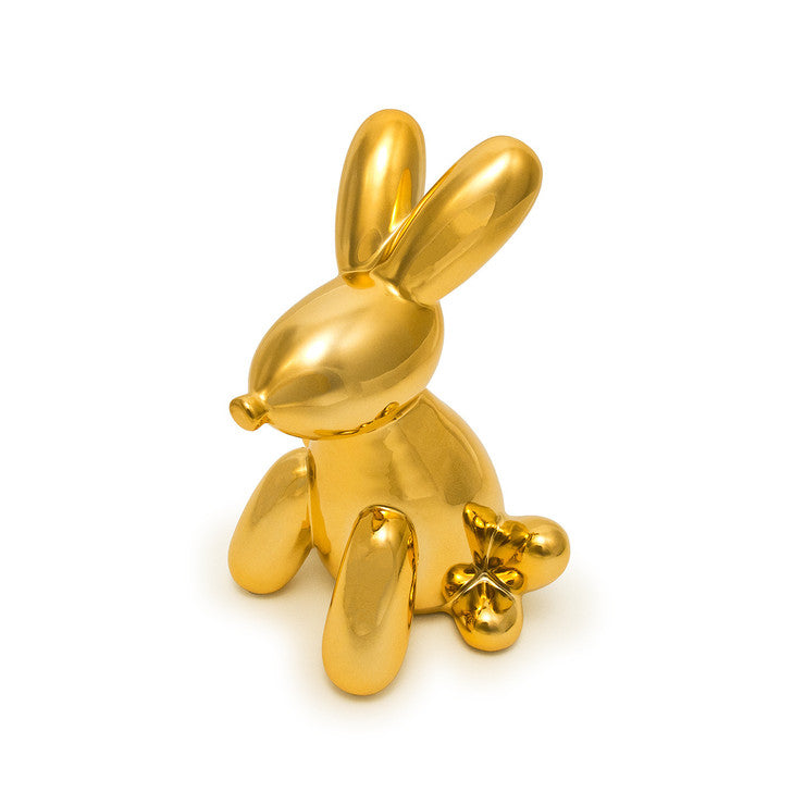 Bunny Money Bank Gold