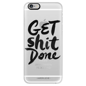 Get Shit Done Black iPhone 6+