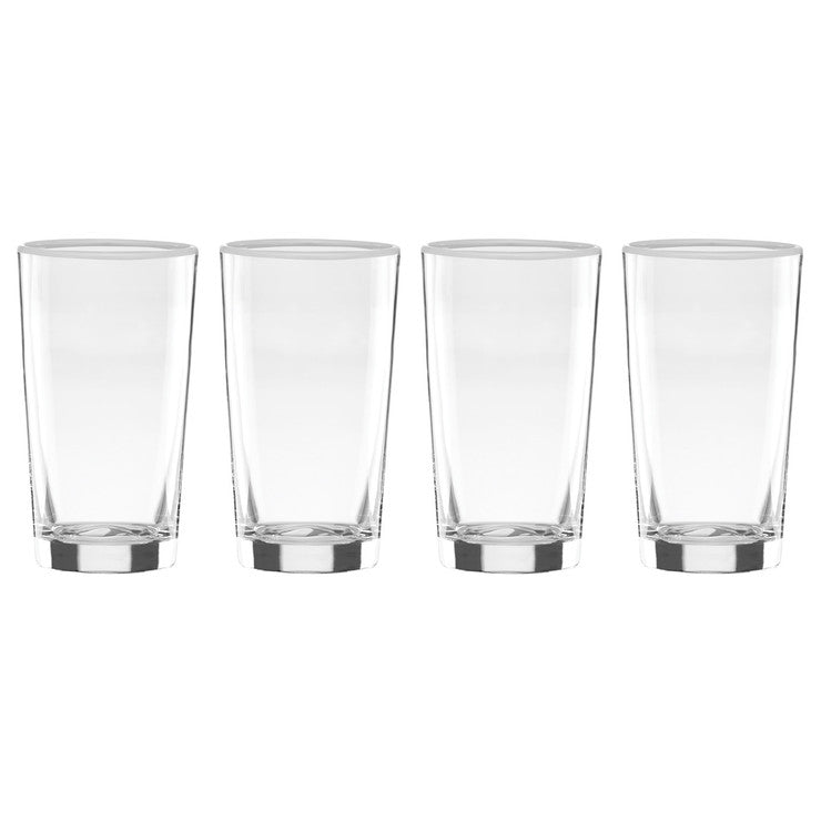 Highball Glasses Set Of 4 White