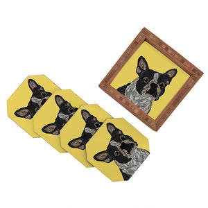 Barkysimeto Coaster Set Of 4