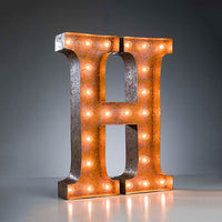 Marquee Light H Rust