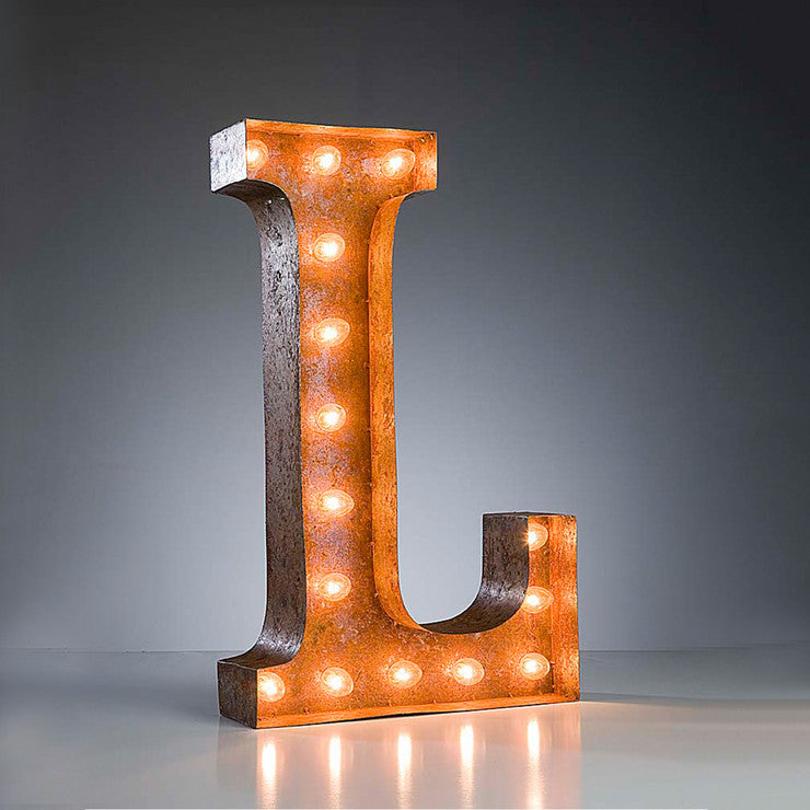 Marquee Light L Rust