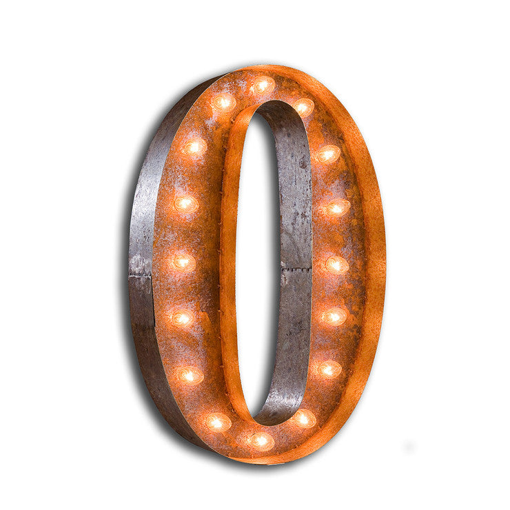 Marquee Light O Rust