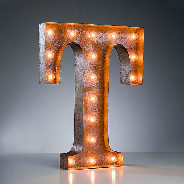 Marquee Light T Rust
