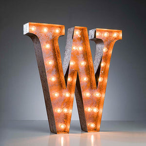 Marquee Light W Rust
