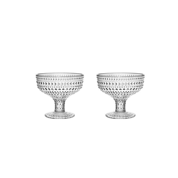 Kastehelmi Footed Bowl 2 Pack